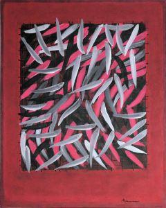 captured acrylic on canvas 80 x 100 cm