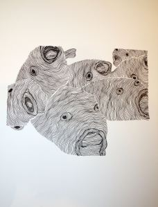 scream ink on paper